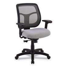Load image into Gallery viewer, Apollo Mid-Back Mesh Chair, Silver Seat/silver Back