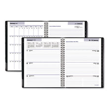 Load image into Gallery viewer, EXECUTIVE WEEKLY/MONTHLY PLANNER, 6 7/8 X 8 3/4, BLACK, 2019