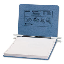"Load image into Gallery viewer, Presstex Covers W/storage Hooks, 6"" Cap, 9 1/2 X 11, Light Blue"