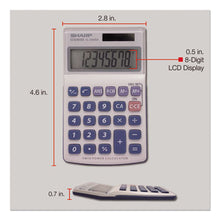 Load image into Gallery viewer, El240sb Handheld Business Calculator, 8-Digit Lcd