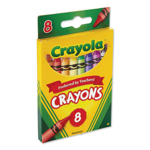 Classic Color Crayons, Peggable Retail Pack, Peggable Retail Pack, 8 Colors