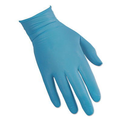 G10 FLEX BLUE NITRILE GLOVES, BLUE, 9.5