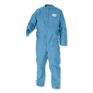 A20 BREATHABLE PARTICLE-PRO COVERALLS, ZIP, 4X-LARGE, BLUE, 24/CARTON