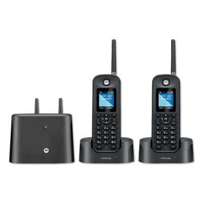 MTR0200 SERIES DIGITAL CORDLESS TELEPHONE WITH ANSWERING MACHINE, 2 HANDSETS