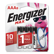 Load image into Gallery viewer, Max Alkaline Batteries, Aaa, 8 Batteries/pack