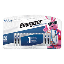 Load image into Gallery viewer, Ultimate Lithium Batteries, Aaa, 12/pack