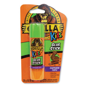 SCHOOL GLUE STICKS, 0.7 OZ, DRIES CLEAR, 6/PACK