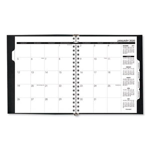REFILLABLE MULTI-YEAR MONTHLY PLANNER, 9 X 11, WHITE, 2019-2023