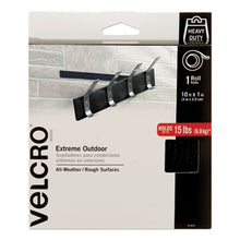 "Load image into Gallery viewer, HEAVY-DUTY FASTENERS, EXTREME OUTDOOR PERFORMANCE, 1"" X 10 FT, BLACK"