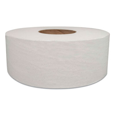 JUMBO BATH TISSUE, SEPTIC SAFE, 2-PLY, WHITE, 1000 FT, 12/CARTON
