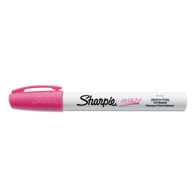 PERMANENT PAINT MARKER, MEDIUM BULLET TIP, PINK, DOZEN