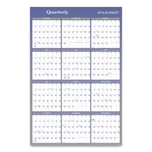 Load image into Gallery viewer, VERTICAL/HORIZONTAL ERASABLE WALL PLANNER, 24 X 36, 2019