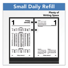 Load image into Gallery viewer, FINANCIAL DESK CALENDAR REFILL, 3 1/2 X 6, WHITE, 2019
