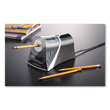 Load image into Gallery viewer, IPOINT EVOLUTION AXIS PENCIL SHARPENER, BLACK/SILVER, 4 1/4 W X 7D X 4 3/4H