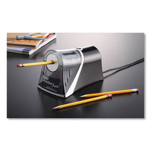 IPOINT EVOLUTION AXIS PENCIL SHARPENER, BLACK/SILVER, 4 1/4 W X 7D X 4 3/4H