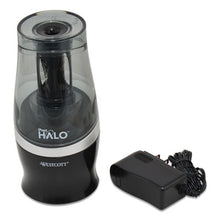 Load image into Gallery viewer, HALO COLORED PENCIL NON-STICK ELECTRIC SHARPENER, ELECTRIC, 3.5W X 3.5D X 6.75H
