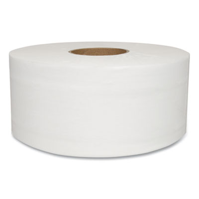 JUMBO BATH TISSUE, SEPTIC SAFE, 2-PLY, WHITE, 750 FT, 12 ROLLS/CARTON