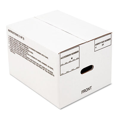 8115001178249 SKILCRAFT RECORD ARCHIVAL STORAGE BOX, LETTER FILES, 12