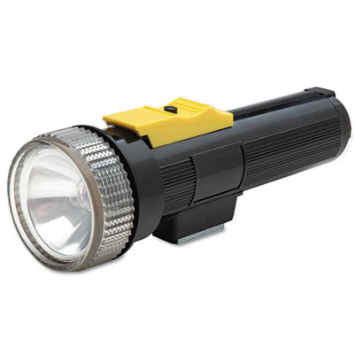 6230007813671, FLASHLIGHT WITH MAGNET, 2 D BATTERIES (SOLD SEPARATELY), BLACK