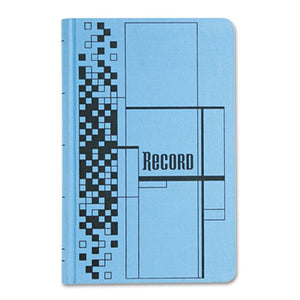 Record Ledger Book, Blue Cloth Cover, 500 7 1/4 X 11 3/4 Pages