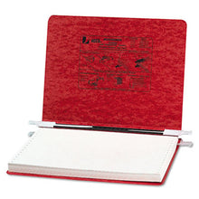 "Load image into Gallery viewer, Presstex Covers W/storage Hooks, 6"" Cap, 12 X 8 1/2, Executive Red"