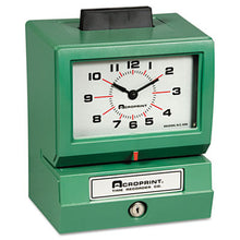 Load image into Gallery viewer, Model 125 Analog Manual Print Time Clock With Month/date/0-23 Hours/minutes