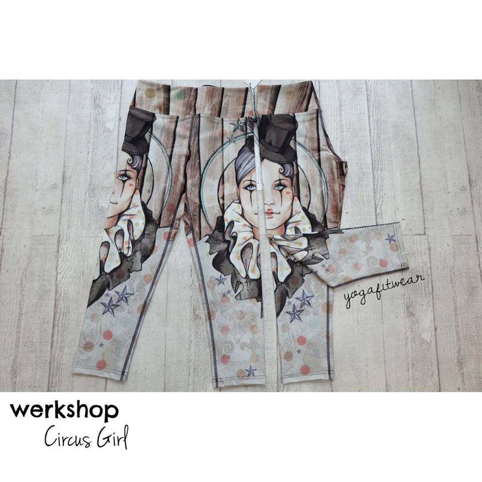 Werkshop Capri Length - Circus Girl (WS00018P)
