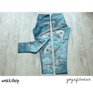Werkshop Capri Length - Sharks (WS00062)