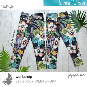 Werkshop Capri Length - Floral Night (WS00107)
