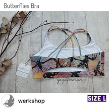 Werkshop Sports Bra - Butterflies (WS00124)