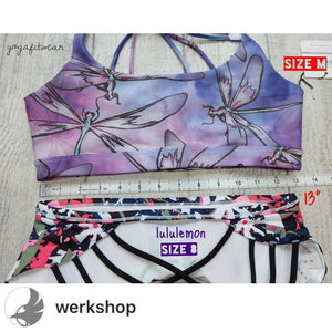 Werkshop Sports Bra - Dragonfly (WS00121)