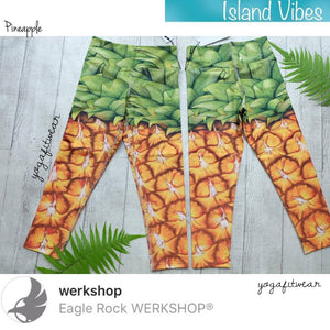 Werkshop Capri Length - Pineapple (WS00103)