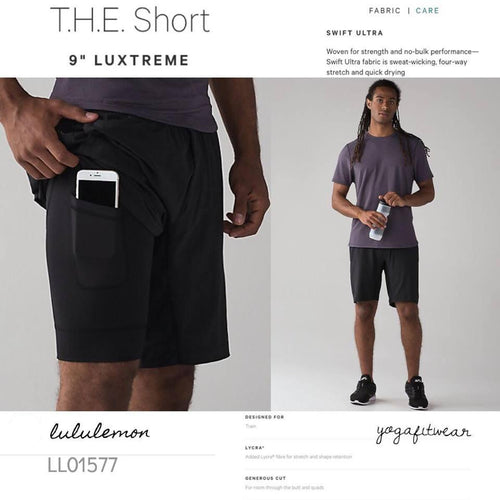 Lululemon - T.H.E.Short9