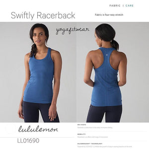 Lululemon - Swiftly Racerback (Royal) (LL01690)