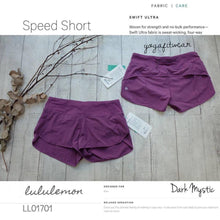 Lululemon - Speed Short (Dark Mystic) (LL01701)