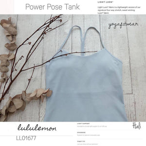 Lululemon -  Power Pose Tank (Hali) (LL01677)