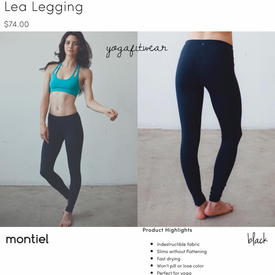 Montiel Legging - Lea Legging (black) (MT00085)
