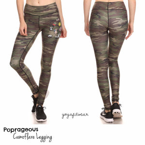Poprageous Legging - Camoflare Dream Legging (PO00031)