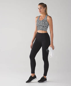 Lululemon - Beat the heat Bra (Ice breaker white black) (LL01290)