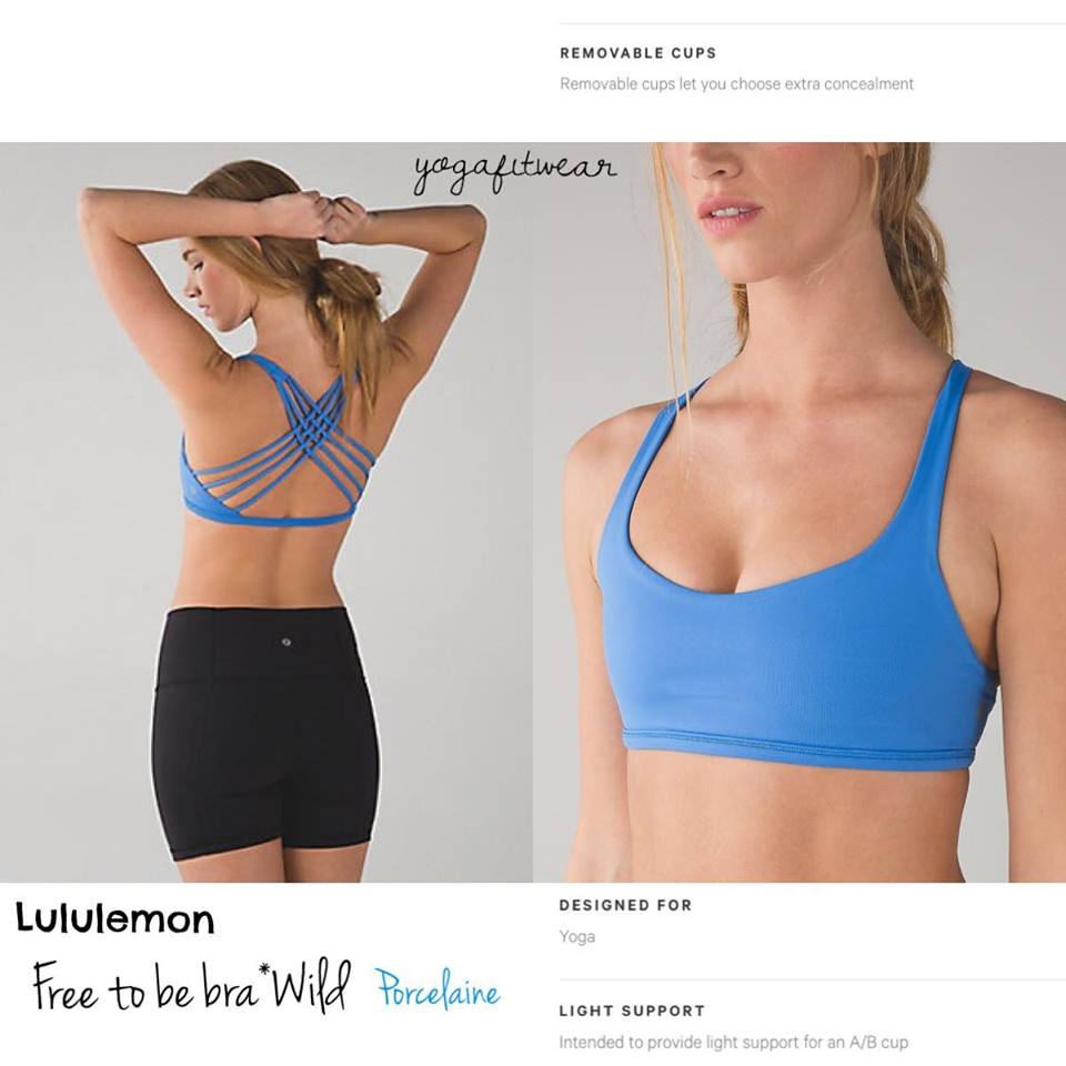 Lululemon - Free to be Bra*Wild (Porcelaine) (LL01089)