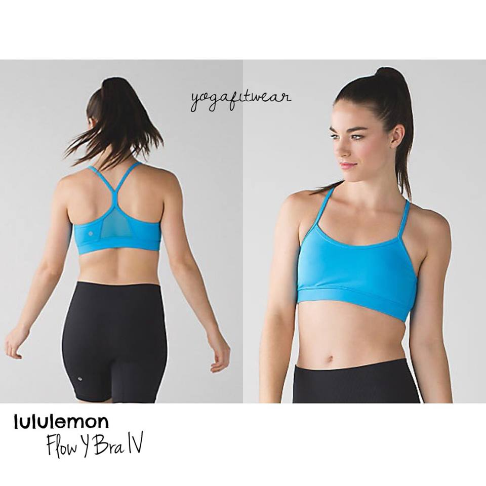 Lululemon - Flow Y Bra IV (Kayak Blue) (LL01067)
