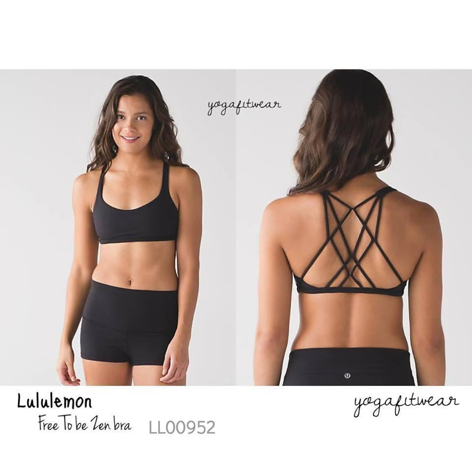 Lululemon - Free to be zen bra (black) (LL00952)