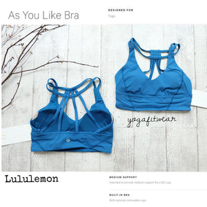 Lululemon - As You Like  Bra (Jet Set Blue) (LL01222)
