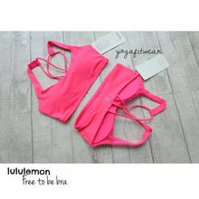 Lululemon - Free to be bra (Neon Pink) (LL00918)