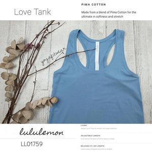 Lululemon - Love Tank (Seascape) (LL01759)