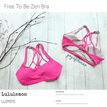 Lululemon - Free to be zen bra (jewelled Magenta) (LL01015)