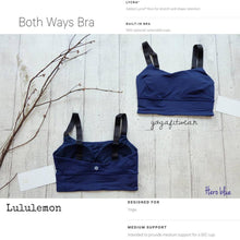 Lululemon - Both Ways Bra (Hero Blue) (LL01260)
