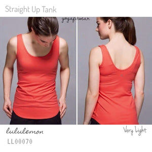 Lululemon - Straight Up Tank (Very Light) (LL00070)
