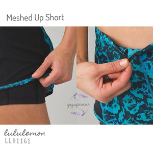 Lululemon - Meahed Up Short (FSKD/black/DRAG) (LL01161)