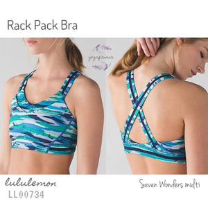 Lululemon - Rack Pack Bra (Seven Wonders multi) (LL00734)